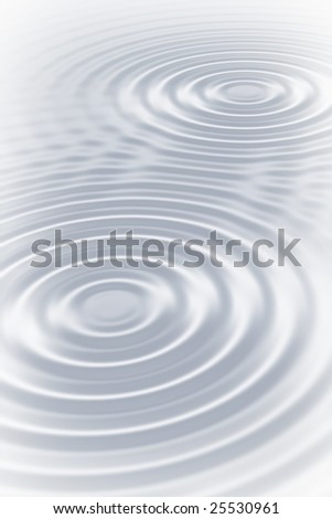 Abstract silver ripples