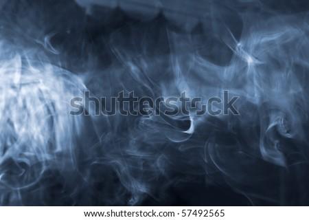 abstract smoke - stock photo