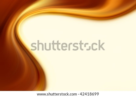 Abstract smooth brown tone flowing background.