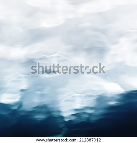 abstract smooth water surface as background - stock photo