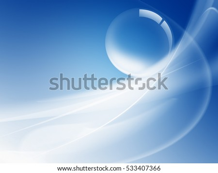 Abstract soap bubble background