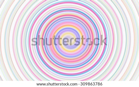 Abstract Soft color spin background