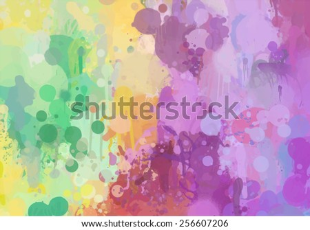 Abstract soft violet brush strokes background. Raster version - stock photo