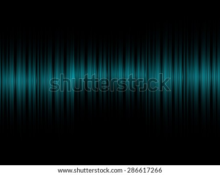 Abstract sound blue equalizer background - stock photo
