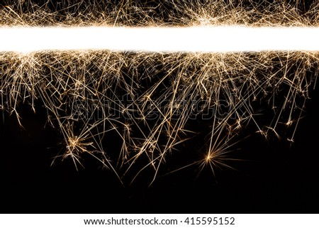Abstract sparks motion texture.  - stock photo