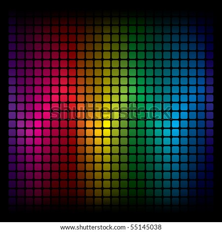 Abstract Spectrum Background - stock photo