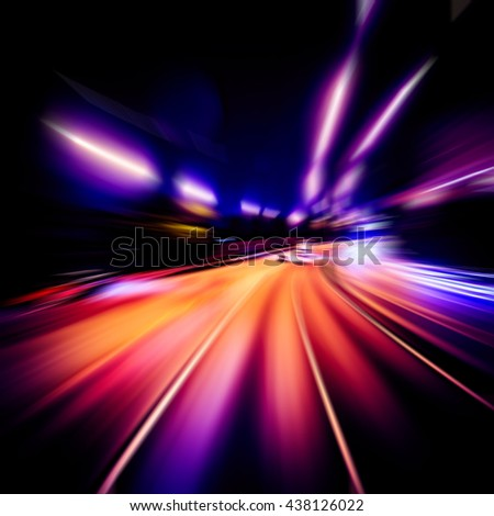 Abstract Speed and Velocity background