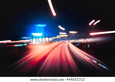 Abstract Speed Background
