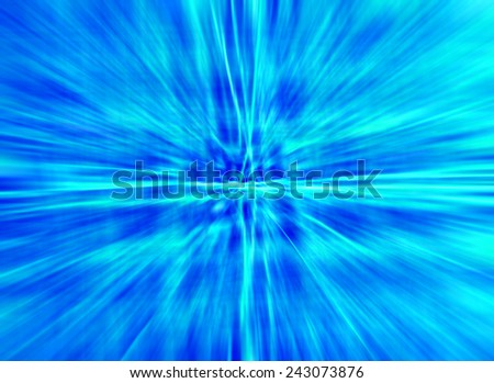 abstract speed light effect colorful blue color