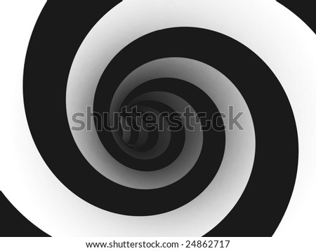 Abstract spiral. For other similar images from the series, please, check my portfolio. - stock photo