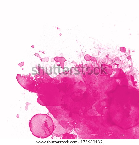Abstract splash background