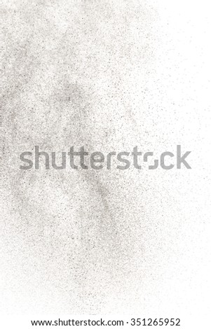 Abstract splashes of water on a white background. Texture of water. Elements of design. Shower. Watering. Spray drops. Sputtering water particles. Drip irrigation. - stock photo