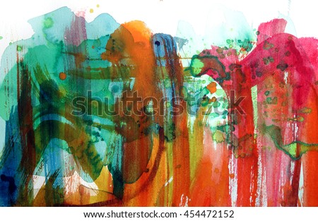 abstract splatter watercolor background design