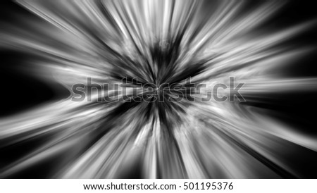 Abstract starburst or zoom background.