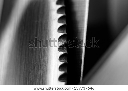Abstract steel background close up photo - stock photo