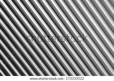 Abstract striped grey background made from window blinds