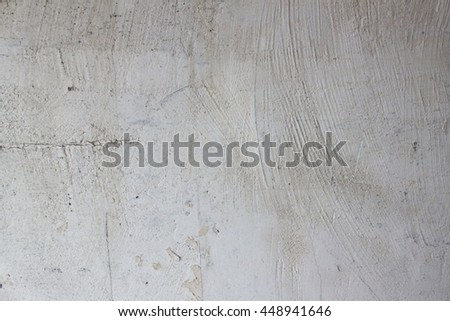 Abstract stucco or plaster grey wall - stock photo