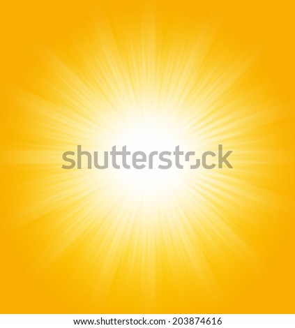 Abstract summer background, sunburst design