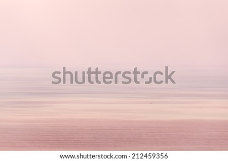 abstract sunset motion blur image - stock photo