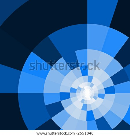 abstract surface, spectral painted in dark blue tones - stock photo