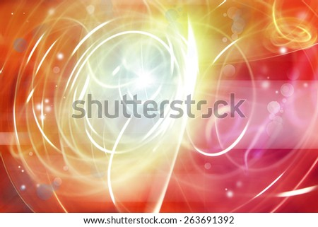 Abstract swirly white lines background - stock photo