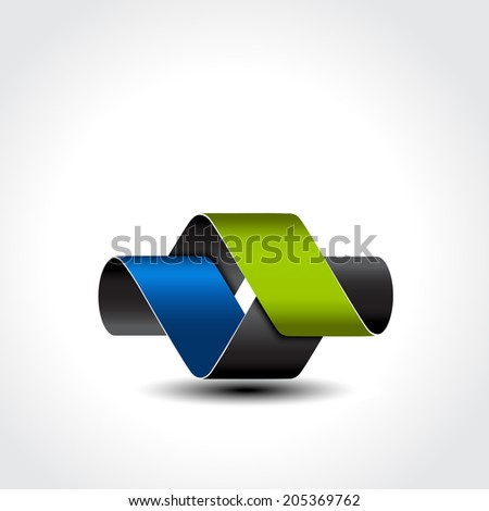 abstract symbol - sign, icon, pictogram  - stock photo