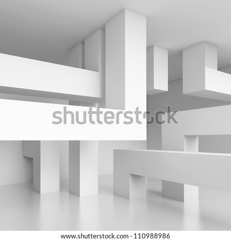 Abstract Technology Background - stock photo