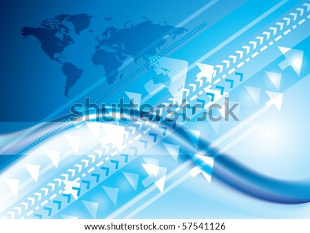 Abstract Technology internet connection concept, background - stock photo