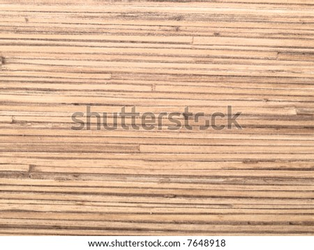 abstract texture based on pressed bamboo - stock photo