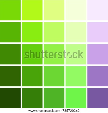 Abstract Texture Color Combination Squares Green Stock