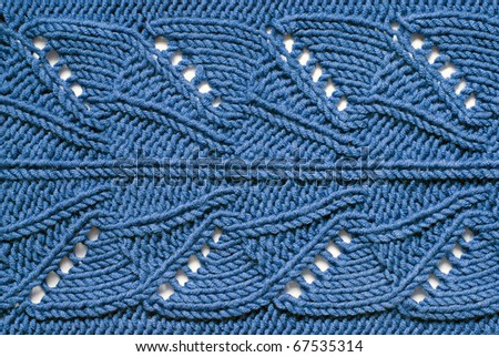 Abstract  texture knitted by spokes - stock photo