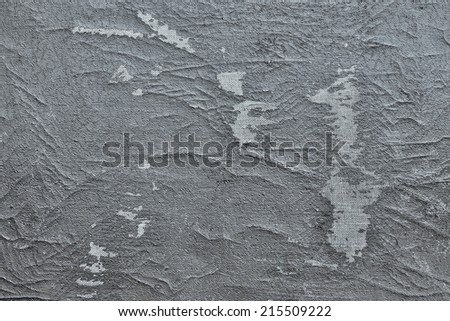 abstract texture of a shabby and worn-out old leather of silvery gray color - stock photo