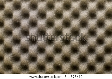 Abstract texture of brown wave sponge use for background or backdrop.