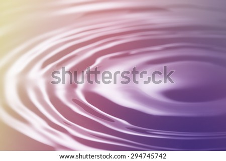Abstract texture of colorful water waves  use for background - stock photo