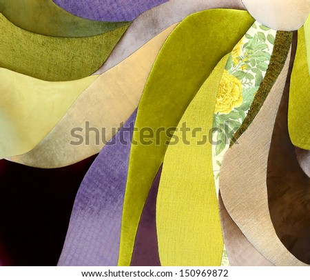 abstract texture of fabric - stock photo
