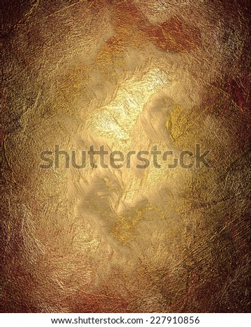 Abstract texture of red and gold background - stock photo