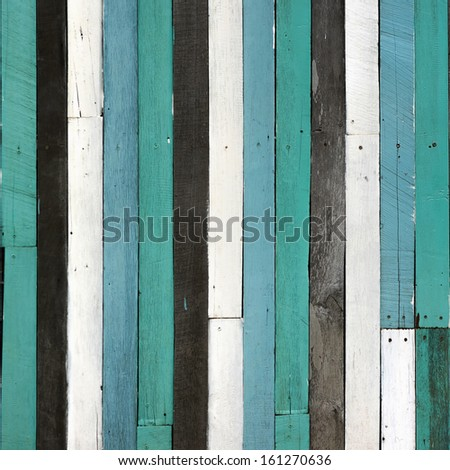 Abstract texture old wooden wall for background.