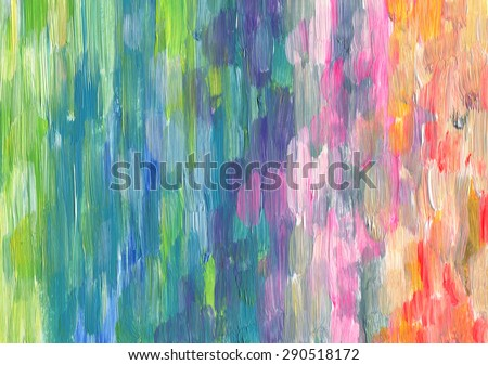 Abstract textured acrylic hand painted background  - stock photo