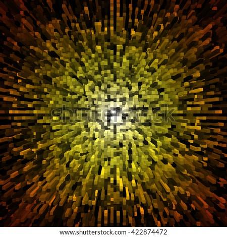 Abstract textured background. Burst movement. - stock photo