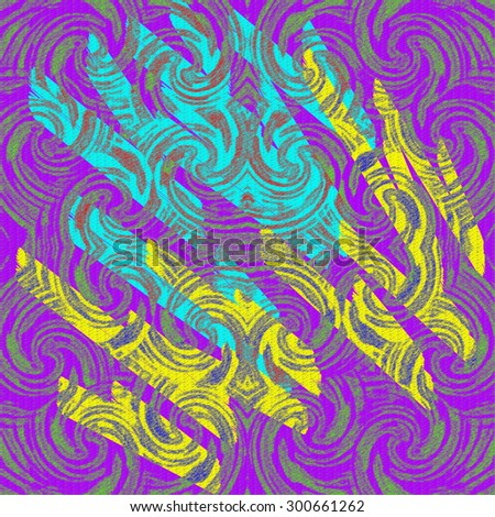 Abstract textured pattern with broken elements.  For your design. - stock photo