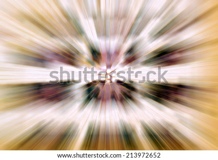 Abstract - the hive in explosion - stock photo