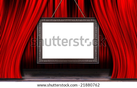 abstract theater stage
