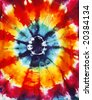 abstract tie dye design - stock photo