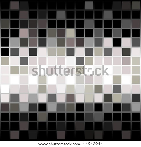Abstract Tile Background Pattern