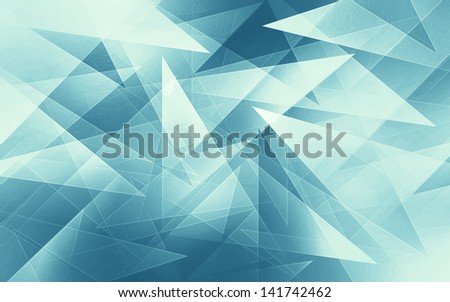 Abstract Triangle Background - stock photo