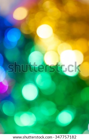 abstract turnovers bokeh background