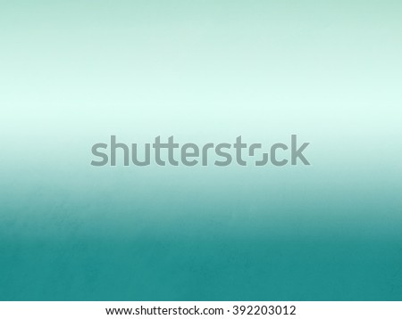 Abstract turquoise color gradient with dark border and white beige background faded color. Abstract gradient color background design. - stock photo