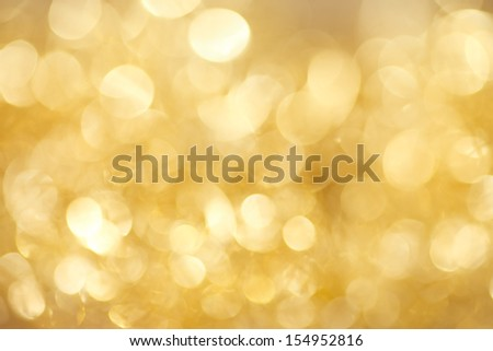 abstract  twinkled  gold christmas background  - stock photo