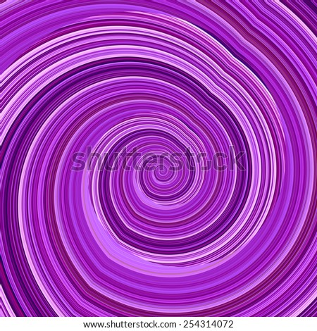Abstract Twisted Purple Fractal Background - Mental Disorder Concept - Hypnosis Spiral - Artificial Computer Generated Image - Creative Psychedelic Art - Unique Crazy Effect - Funky Infinite Loop - - stock photo
