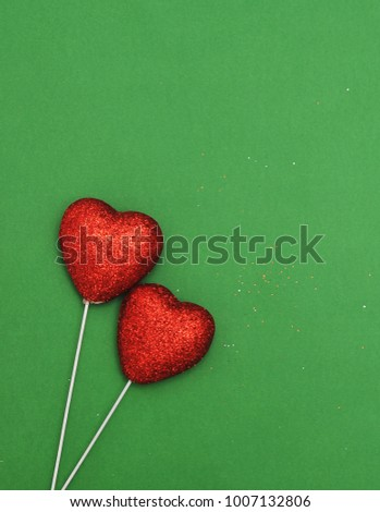 Abstract Valentineu0027s Day Background With A Hearts